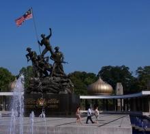 马来西亚游记之吉隆坡的国家英雄纪念碑