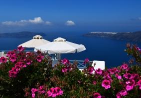希腊圣托里尼岛观奇