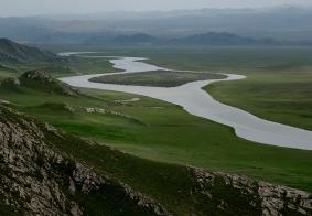 2016年7.8月自驾新疆第九天--世界自然遗产地-巴音布鲁克草原