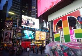 【大千世界】纽约时代广场的傍晚