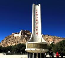 【系列组照】2017藏疆甘行五)----日喀则江孜宗山古城堡