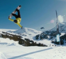 刺激!国际极限滑雪360°高空翻转将亮相仙女山