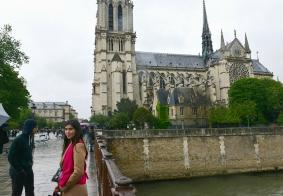 回顾巴黎圣母院的花园