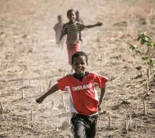 非洲的微笑