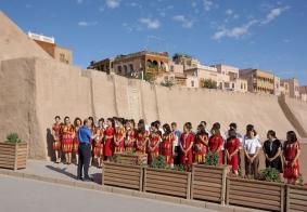 【我们新疆好地方】骄阳炙烤下的喀什导游