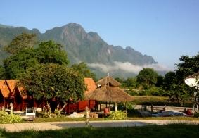 【大千世界】老挝万荣金赞巴花园酒店
