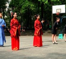 【【   懂 事 的 帅 哥 美 女   】】………四川师范学院礼仪教育………