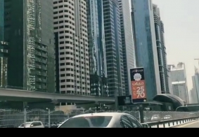 迪拜主城……路边!
