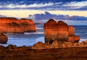 留学土澳,第一次带爸妈自驾大洋路,泡温泉看企鹅