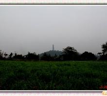 初冬的内江三元塔