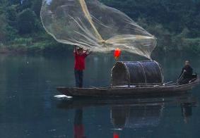 #南游记#小东江的撒网