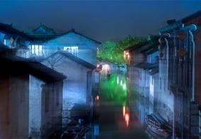 一夜一周庄,桨声灯影里的江南梦