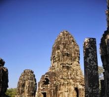 柬埔寨游记之夕阳映吴哥(小)