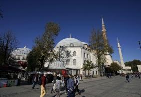 【大千世界】土耳其伊斯坦布尔的游客