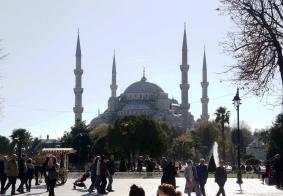 【大千世界】伊斯坦布尔蓝色清真寺