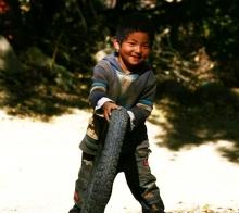 知足者常乐—大山里的孩子