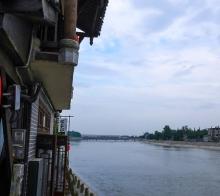 【元通古镇】元通的汇江河畔