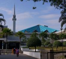 马来西亚游记之国家清真寺