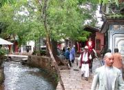 【国庆】丽江街头的游客