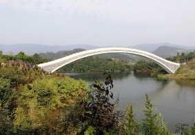 《莲花湖映月桥》