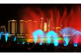 【【  印象嘉陵江音乐喷泉  】】………顺庆篇………