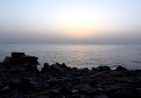 【大千世界】红海日出