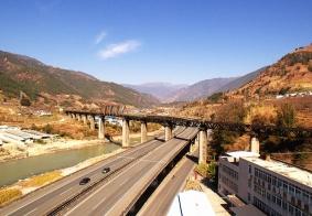【大美四川】俯瞰成昆铁路蒲坝大桥